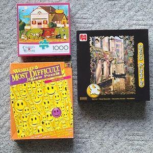 3 puzzles